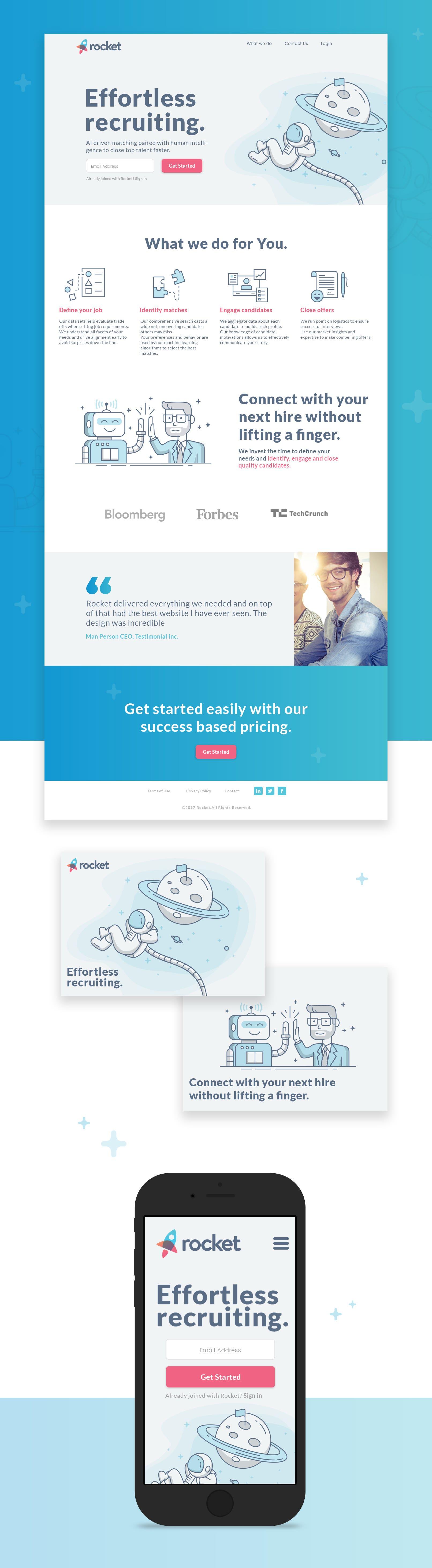 website design (responsive)