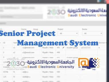 Senior Project Management System
