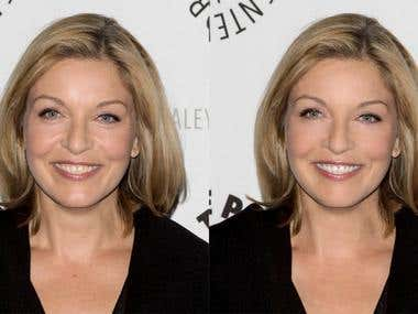 Photoshop Anti-Aging & Skin Work, Before and After