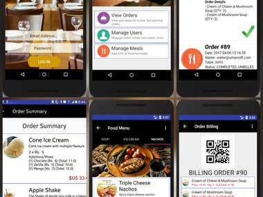 Restaurant Management & Ordering App