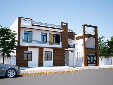 Architectural 2d and 3d design