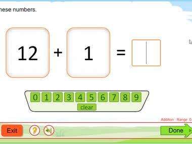 HTML5 Maths Games
