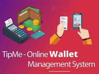 Tipme - Online Wallet System
