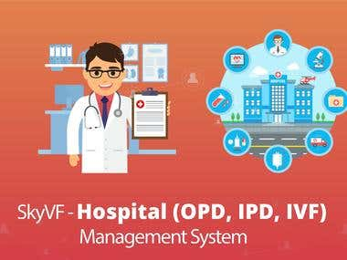 SkyVF - A Hospital ERP (OPD, IPD, IVF)