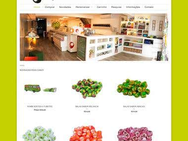 E-commerce Rock Candy