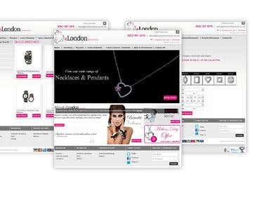 Jewelry Ecommerce in Magento