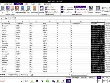 Cleaning and updating several Excel company/contact lists fo
