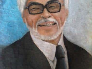 Hayao Miyazaki's Portrait
