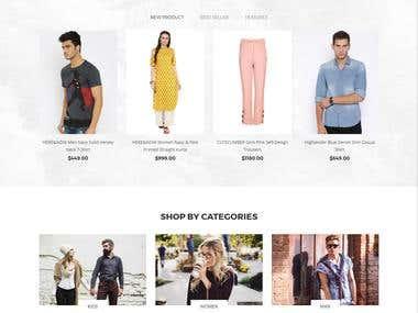 Online shopping Shore