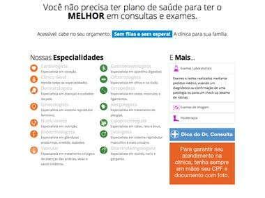 Website Dr. Consulta