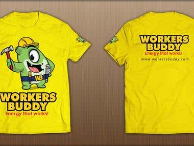 T shirt design and logo