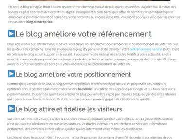 5 raisons de créer votre blog d'entreprise