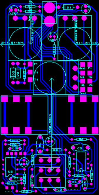 PCB Design of Ibanez Tube Screamer Design (ElectroSmash