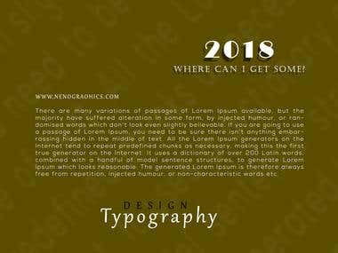 Typographical work