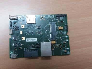 LoRa Core Radio PCB