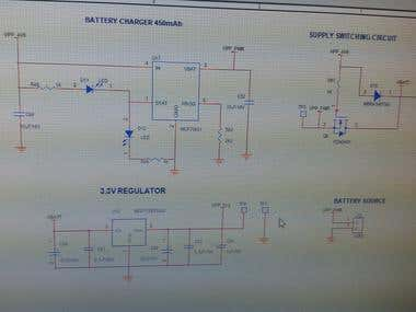 Battery charger circuit design