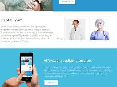 Dental Clinic Website