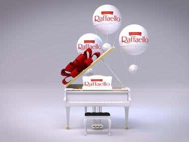 Advertising product. Rafaello