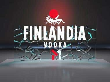 Advertising product. Finlandia
