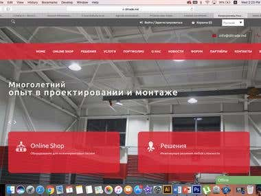 SEO for a ecommerce website in Russian for Moldova