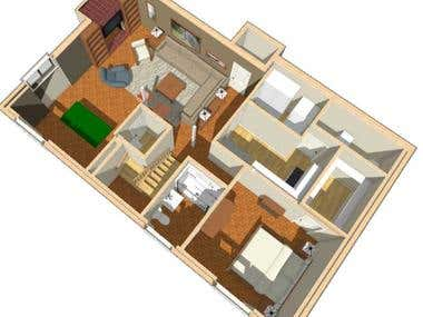 Basement Remodel Design
