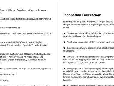 English-Indonesian