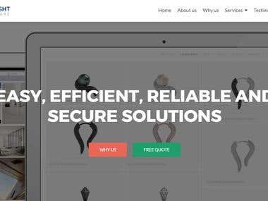 Software service website