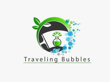 Traveling Bubbles Logo