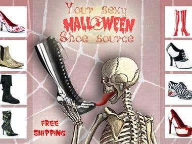 halloween shoe shop