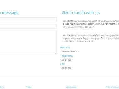 My WEB designs