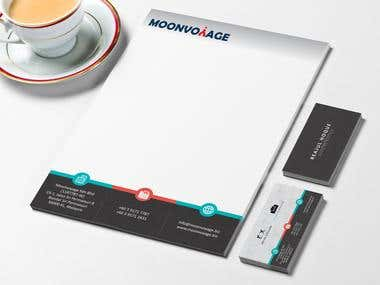 Professional Visiting Card and LOGO stationery Design