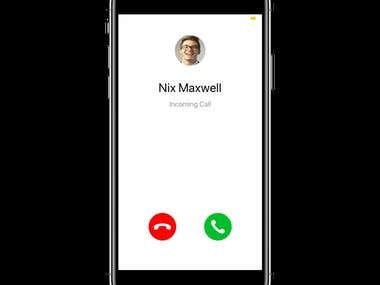 Video Calling App with Secret Messaging