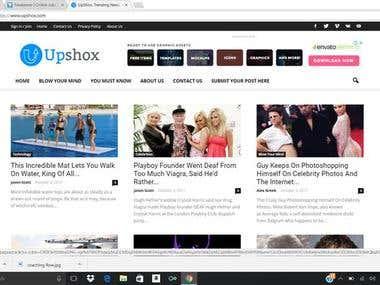 Viral Content Website