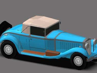 3D MODEL design in Unity
