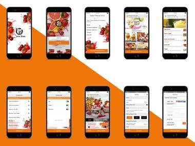 Online store Juice App