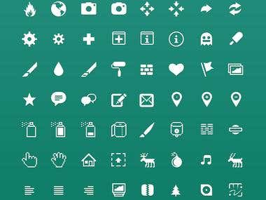 Icons for UI Design