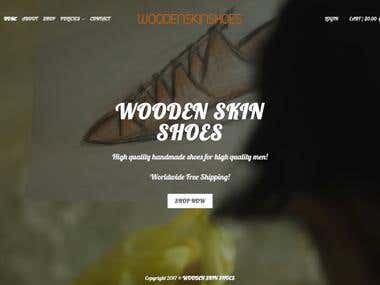 Wooden Skin Shoes