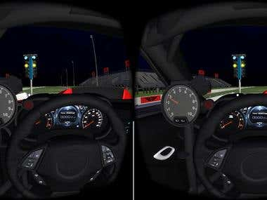 VR Drag Racing Reaction Trainer
