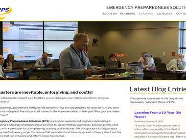 Emergency Preparedness Solution Website