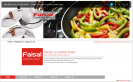 Faisal Cookingware Website