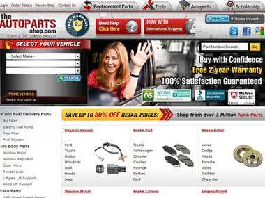 The Autoparts Shop