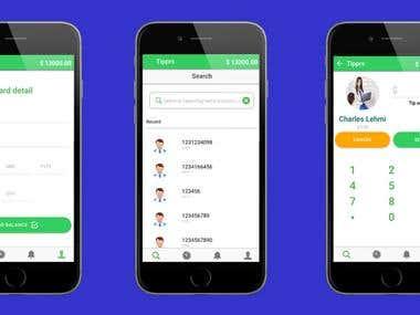 TIPPRS - No Cash? No Problem! Mobile Application