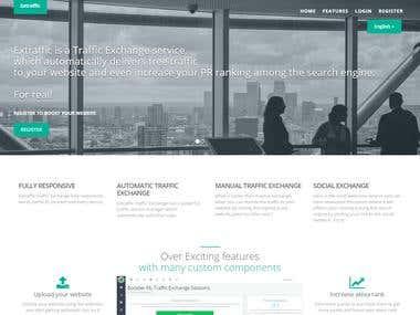 Traffic Exchange System Website for Boosting Website Traffic