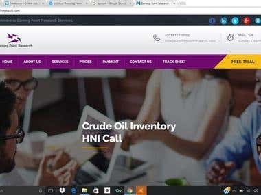 Earning Point Website