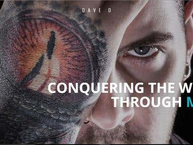 Wordpress Website for Dave Dunsire