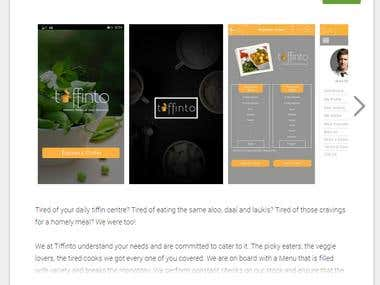 Tiffinto Food Tech-Lifestyle