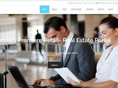 Corporate Website for Retailing India