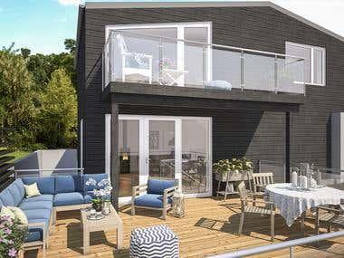 Terrase 3D design!