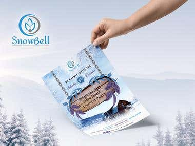 Flyer Design For Snowbell