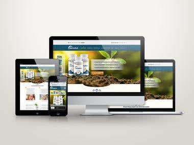 Dermafort - Product Website